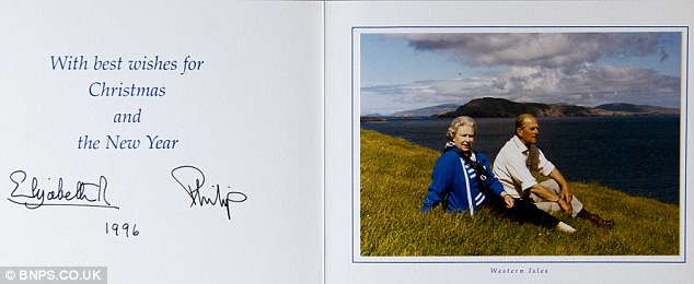 Royal Christmas Cards Up for Auction December 13 | The Royal Firm