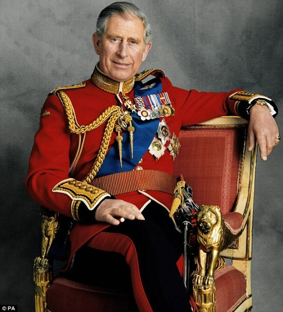 The official 60th birthday portrait of Prince Charles.