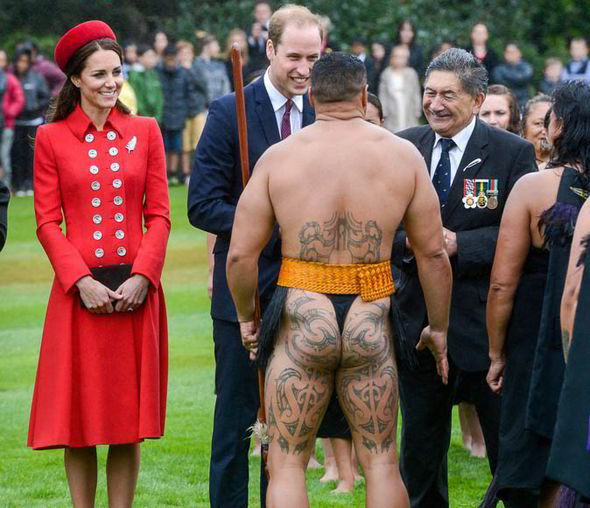The traditional Maori welcome ceremony included meeting dancers in native dress.