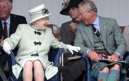 The Queen and Prince of Wales share a laugh while in Scotland. The two clearly share a bond and will work well as a team to share royal responsibilities in the years to come.